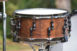 Walnut Stave-Shell Snare