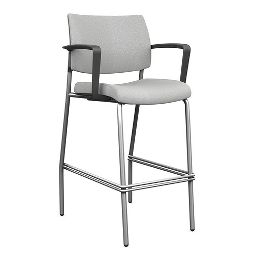 SitOnIt Focus Fully Upholstered Side Counter/Bar Stool