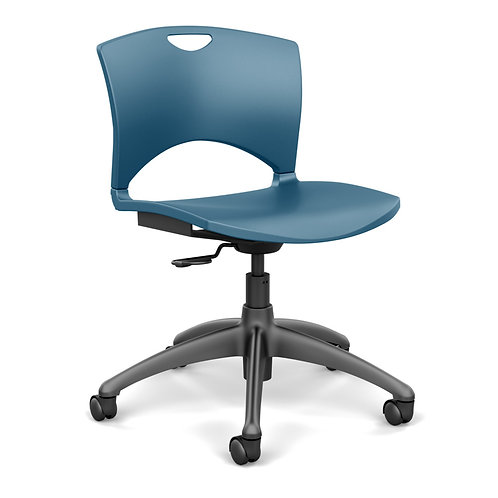 SitOnIt OnCall  Plastic Seat & Back Light Task Chair