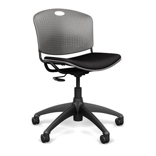 SitOnIt Anytime Upholstered Seat Light Task Chair