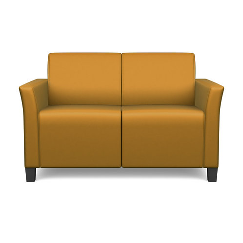 Composium Flair Settee Integrated Valance Lounge Seating