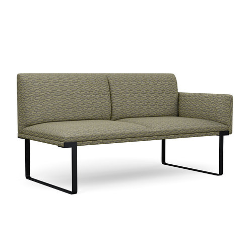 Cameo Two Seater Left Arm Lounge Seating