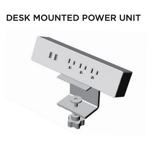 Desk Mounted Power Unit