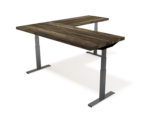 IAO HEIGHT ADJUSTABLE L-SHAPE DESK, PART I