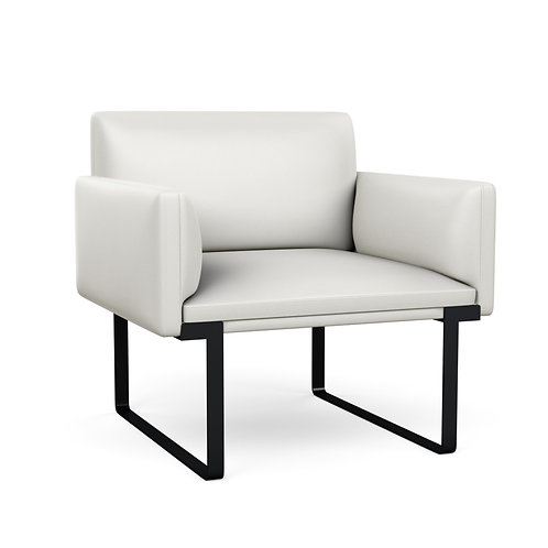 Cameo Single Seat Dual Arms Lounge Seating