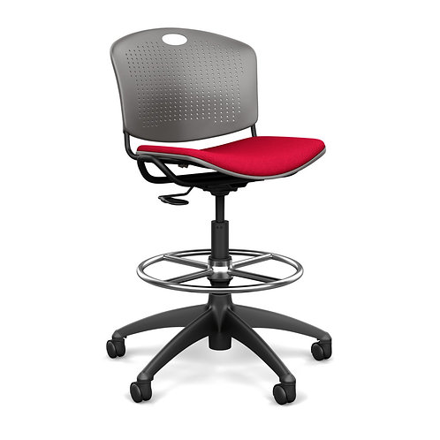 SitOnIt Anytime Upholstered Seat Task Stool