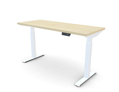 My-Hyte 2 Stage Height Adjustable Table 24X60 With T-Legs
