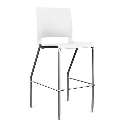 SitOnIt Rio Plastic Seat & Back Counter/Bar Stool