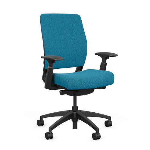 SitOnIt Amplify Fully Upholstered Highback Task Chair