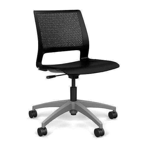 SitOnIt Lumin Plastic Seat & Back Light Task Chair