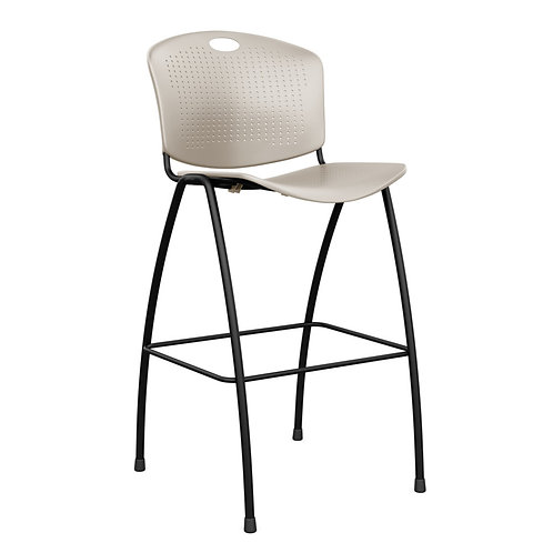SitOnIt Anytime Plastic Seat & Back Bar/Counter Stool