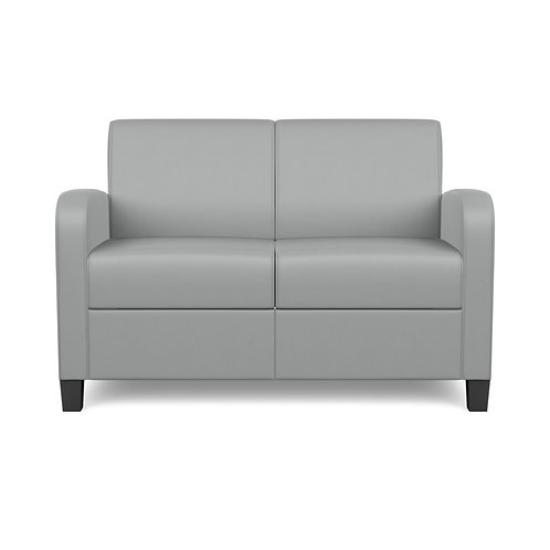 Composium Curve Settee Full Valance Lounge Seating