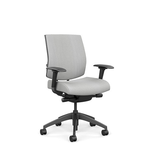 SitOnIt Focus Large & Tall Midback Fully Upholstered Task Chair