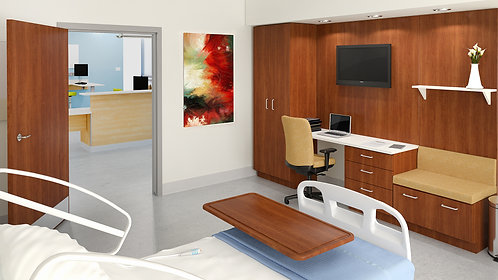 Neocase Patient Room Wall Unit