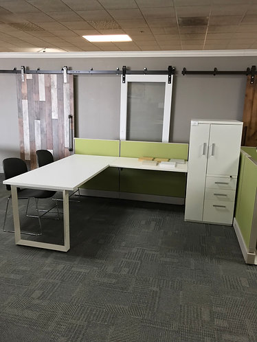New Cubicle Set with Wardrobe