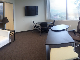 Private Office with executive office chairs