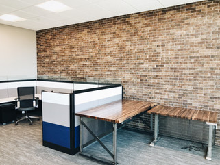 Cubicle work space design