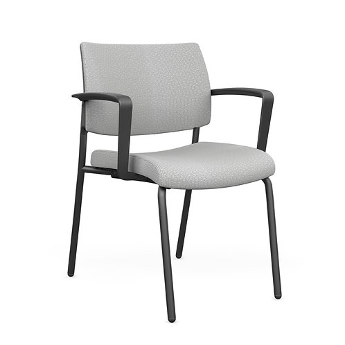 SitOnIt Focus Fully Upholstered Fixed Arm Guest Chair