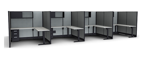 Cubicle Novo - Pack of 8 (FH-8008)