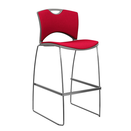 SitOnIt OnCall Fully Upholstered Counter/Bar Stool