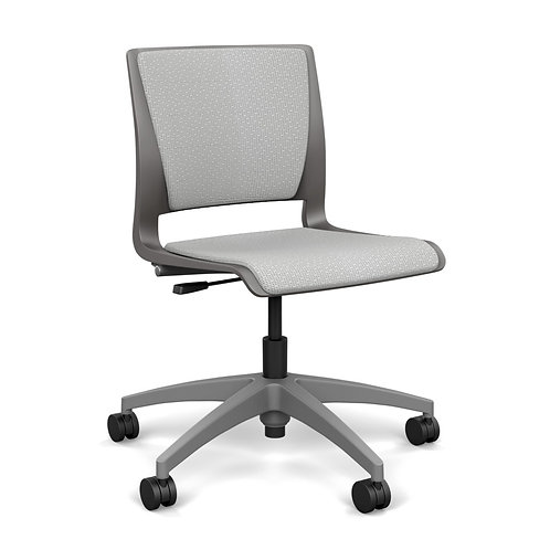 SitOnIt Rio Fully Upholstered Light Task Chair