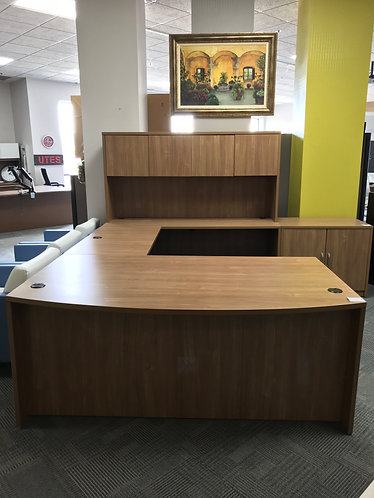 New Friant U-Shape Desk w/ Hutch