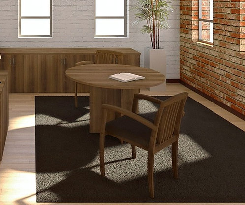 Amber Round Meeting Tables