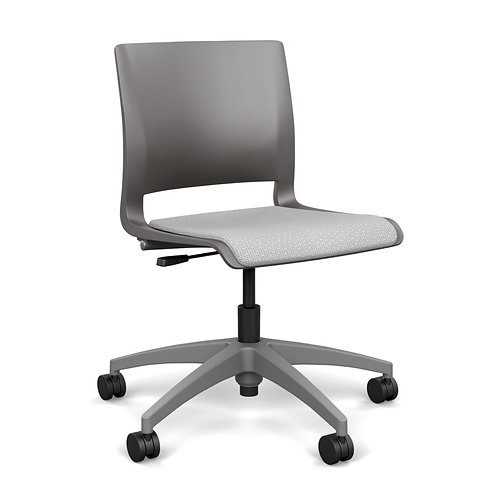 SitOnIt Rio Upholstered Seat Light Task Chair