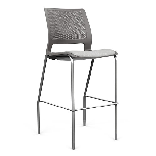 SitOnIt Lumin Upholstered Seat Counter/Bar Stool