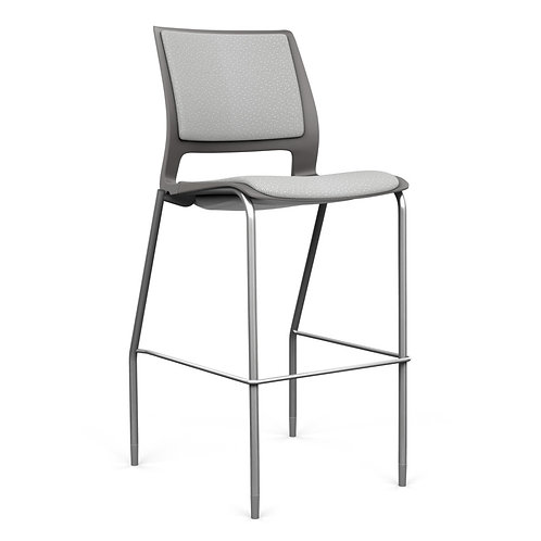 SitOnIt Lumin Fully Upholstered Counter/Bar Stool