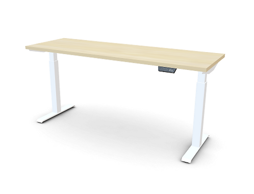 My-Hyte 2 Stage Height Adjustable Table 24X72 With T-Legs