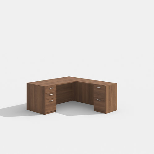 Amber L Shape Desk
