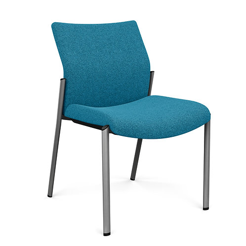 SitOnIt Achieve Fully Upholstered Armless Guest Chair