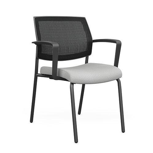 SitOnIt Focus Mesh Fixed Arm Guest Chair