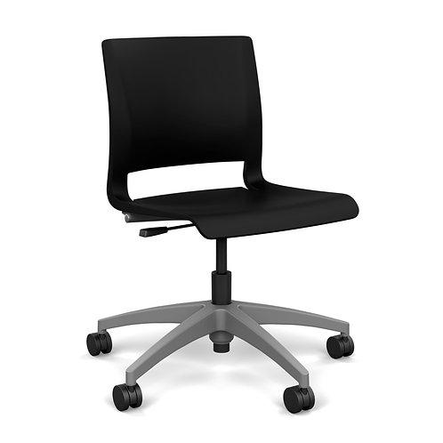 SitOnIt Rio Plastic Seat & Back Light Task Chair