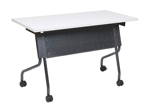 "4"" Folding Training Table w/Titanium Frame"