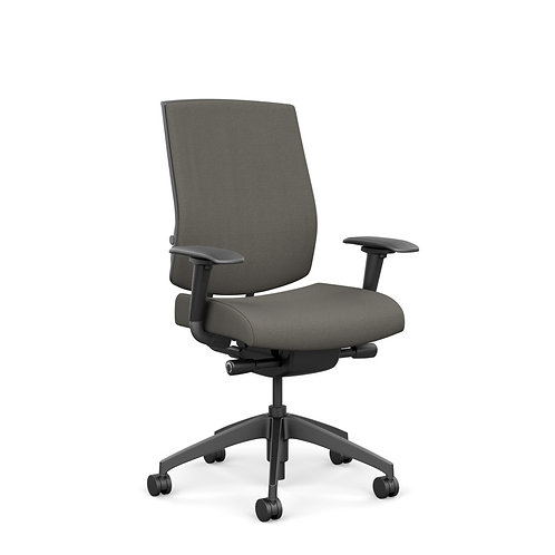 SitOnIt Focus Large & Tall Fully Upholstered Highback Task Chair