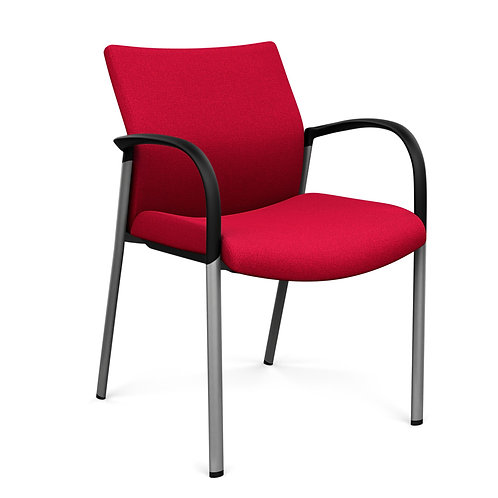 SitOnIt Achieve Fully Upholstered Fixed Arm Guest Chair