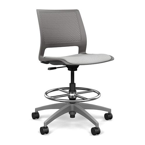 SitOnIt Lumin Upholstered Seat Task Stool