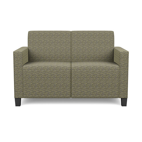 Composium Sharp Settee Integrated Valance Lounge Seating