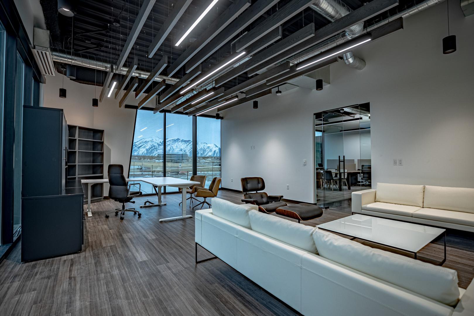 Large Office Interior Design