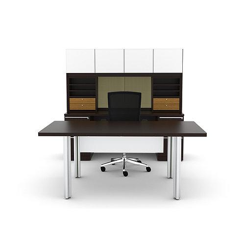Verde Executive Desk w/ Hutch