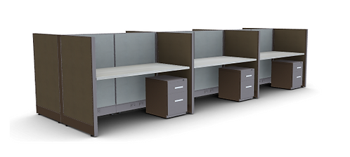 Cubicle Novo - Pack of 6 (FH-6010)