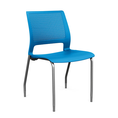 SitOnIt Lumin Plastic Seat & Back Guest Chair