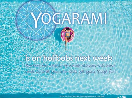 Yogarami Holibobs