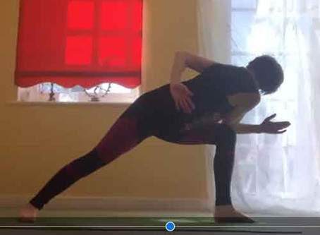 YOGARAMI ONLINE - WE'RE GOING LIVE!  Class this evening - 7pm