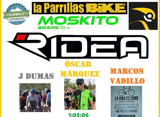 Óscar Márquez (Moskito Bikers) gana en el Tourmalet.