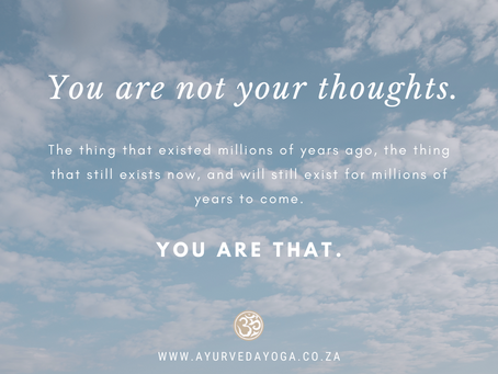 Make space between you and your thoughts