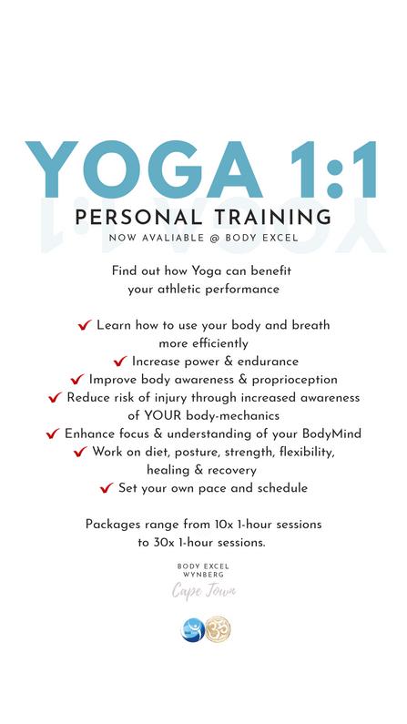 yoga personal training wynberg