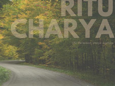 Ritucharya: Adapting to seasonal changes
